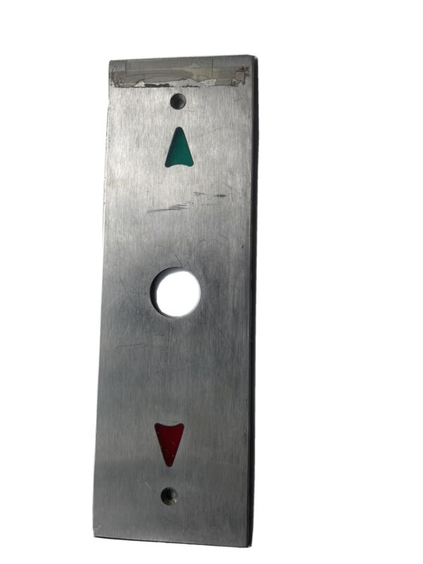 Elevator Control Panel Cover Plate Old