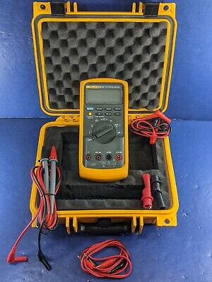Fluke 87 Iii Trms Multimeter Screen Protector Excellent Hard Case See Detail
