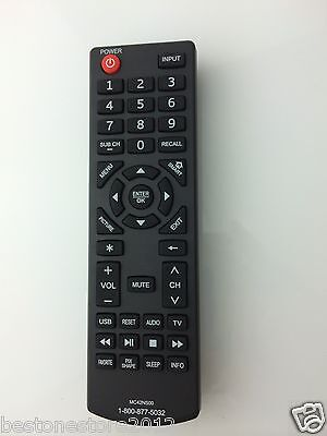 New SANYO mc42ns00 remote contro for Sanyo Roku Ready TV DP24E14 DP42D24 DP50E44