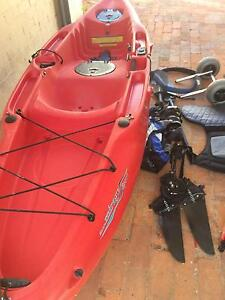 Hobie Mirage Sport Kayak comes with extra in good conidtion Perth Perth City Area Preview