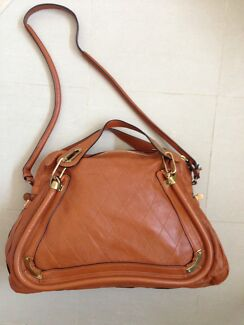Sale BRAND NEW auth Chloe Paraty brown leather shoulder bag