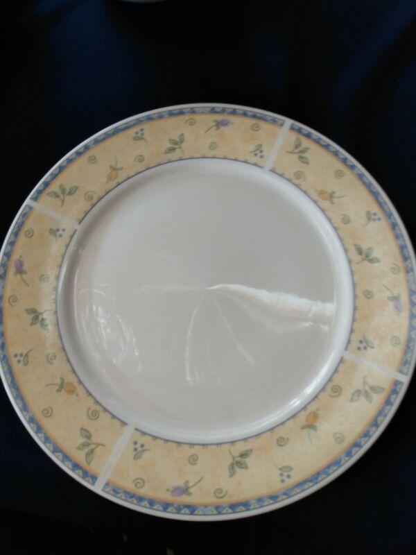 "Sango Papillon 8838 Round Serving Platter 12"" EUC"