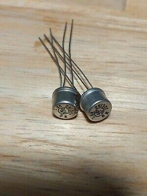 Vintage Rca 2n1301 Transistor Germanium Lot Of 2