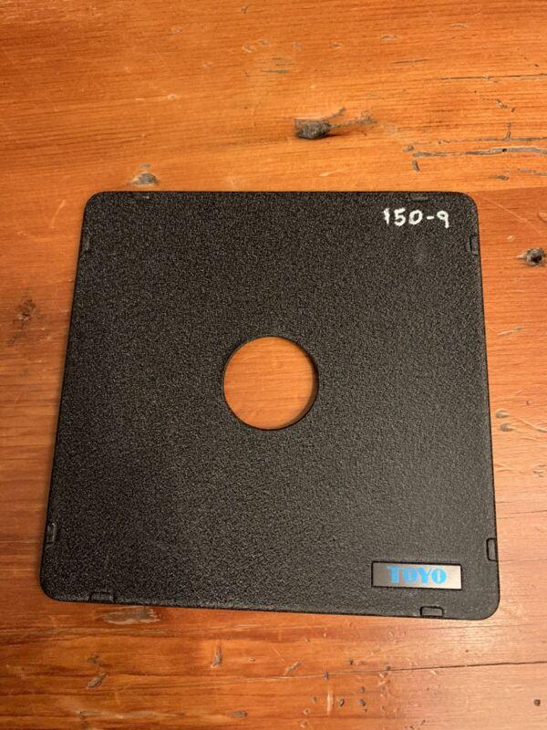 Toyo 4x5 View Camera #0 Lens Board