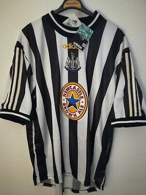NEWCASTLE UNITED 1997-1998 BNWT camiseta shirt trikot maillot maglia adidas