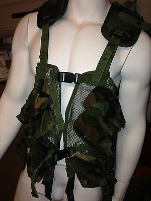 Us Army Woodland Camo (US Army Tactical Load and Bearing Enhanced Vest TOP Woodland Camo TLBV)