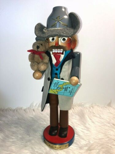 Authentic Steinbach Nutcracker Special Edition American Presidents Roosevelt