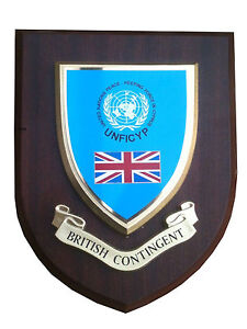 British Contingent Military Wall Plaque UK Made for MOD