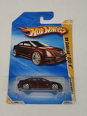 Hot Wheels '09 Cadillac CTS-V Red New Models Series 2009 Mattel