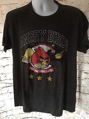 Original Angry Birds Tee Shirt Adult Large Angry Birds EUC