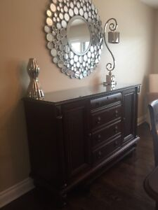 Sideboard/Buffet/Credenza Solid Cherry Wood