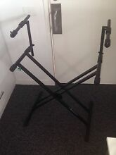 Konig and Meyer Stage Piano Keyboard Stand + Dual tier attachment Penrith Penrith Area Preview