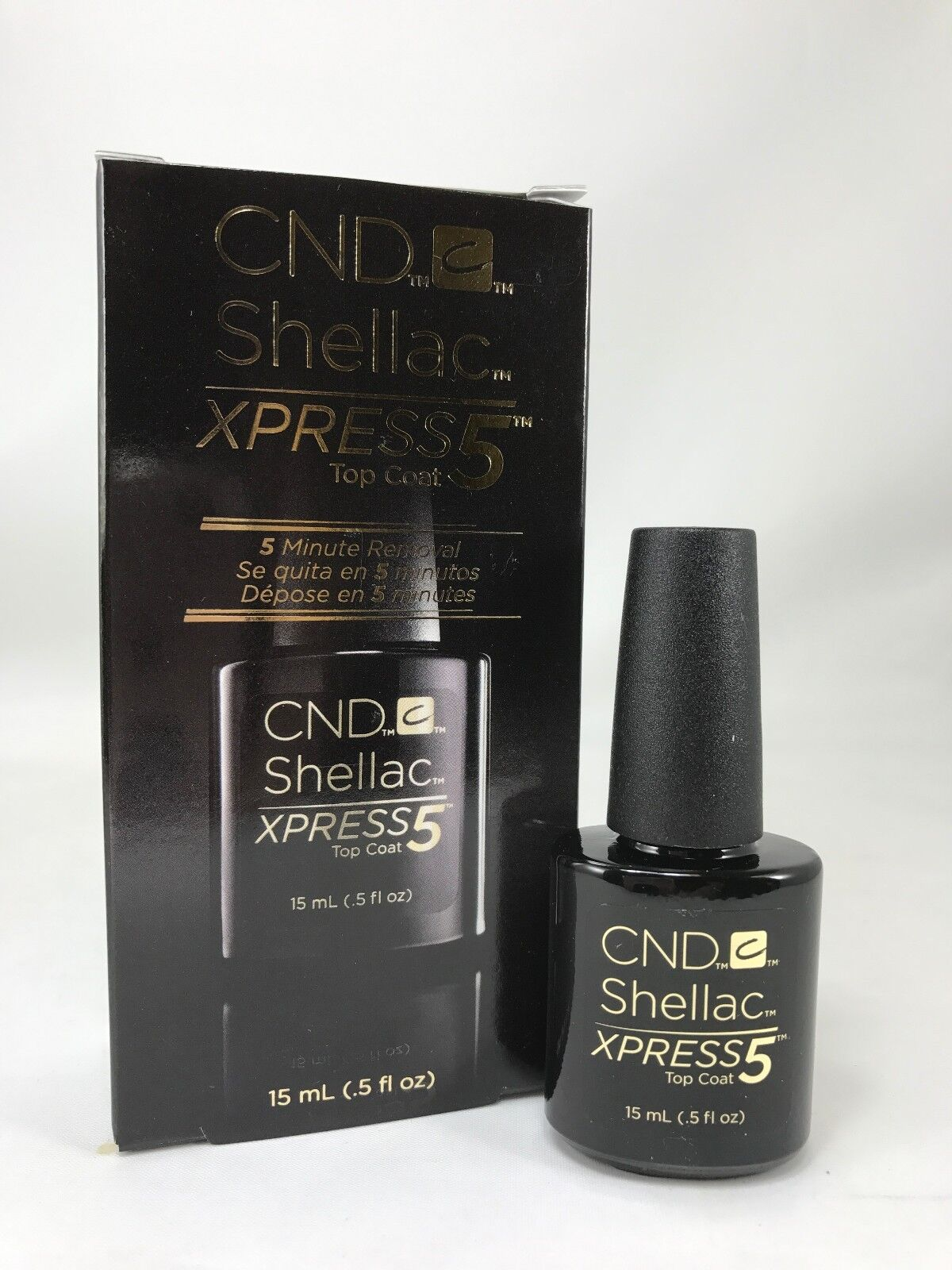 Creative Nail Design Shellac Xpress5 Top Coat - 5 Minute ...