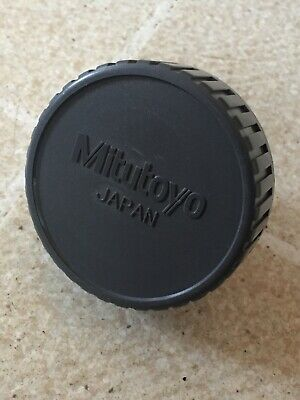 Mitutoyo 2.5 Diameter Dust Cover Plug Toolmakers Microscope 25mm Od