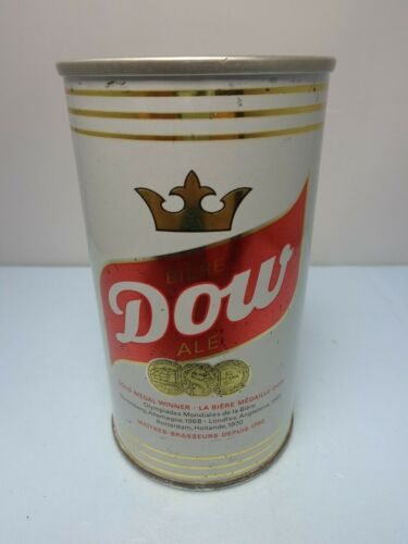 DOW ALE PULL TAB BEER CAN #68  CANADA
