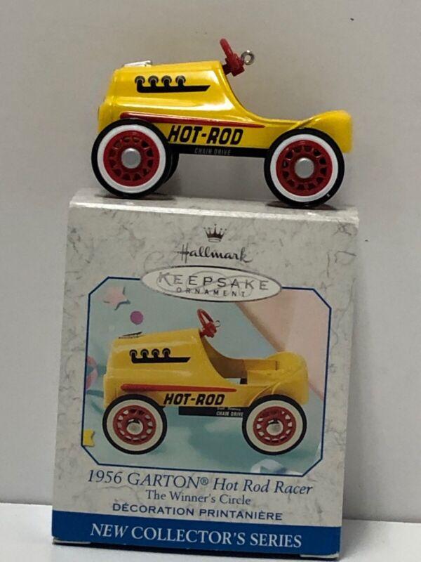 Hallmark 1999 #1 Winner's Circle Pedal Car 1956 GARTON HOT ROD RACER NIB