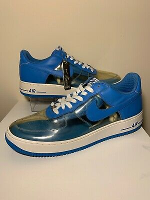 Nike Air Force 1 Shoe Sz 13 313641-941 Fantastic 4 Invisible Men's Clear (Invisible Forces)