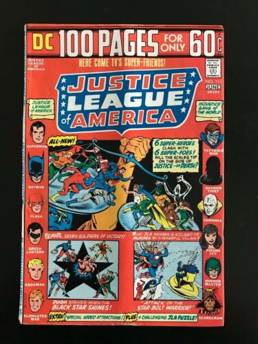 DC Justice League of America #111, 1974!