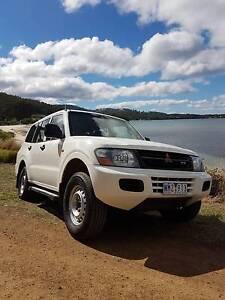 2002 Mitsubishi Pajero Wagon LPG Taroona Kingborough Area Preview