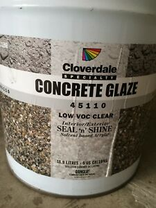 Wanted Concrete Glaze For Free or Will Trade