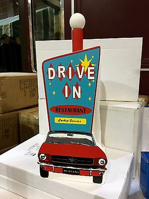 Ford Mustang Drive In Restaurant Paper Towel Holder