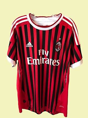 AC Milan Jersey 2011 Home L Shirt Adidas Football Soccer