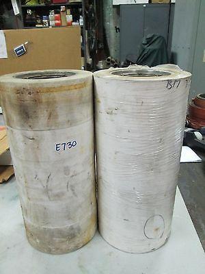 Ej Whitney Belt Conveyor Rubber Roller P208990 7-58 Od X 15.5 Lot Of 2 New