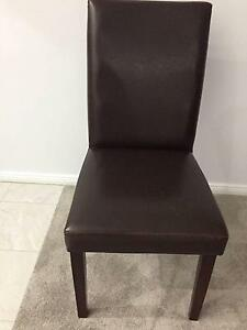 Dining Chairs and table as new! Paid over $2000. Bargain! Belrose Warringah Area Preview