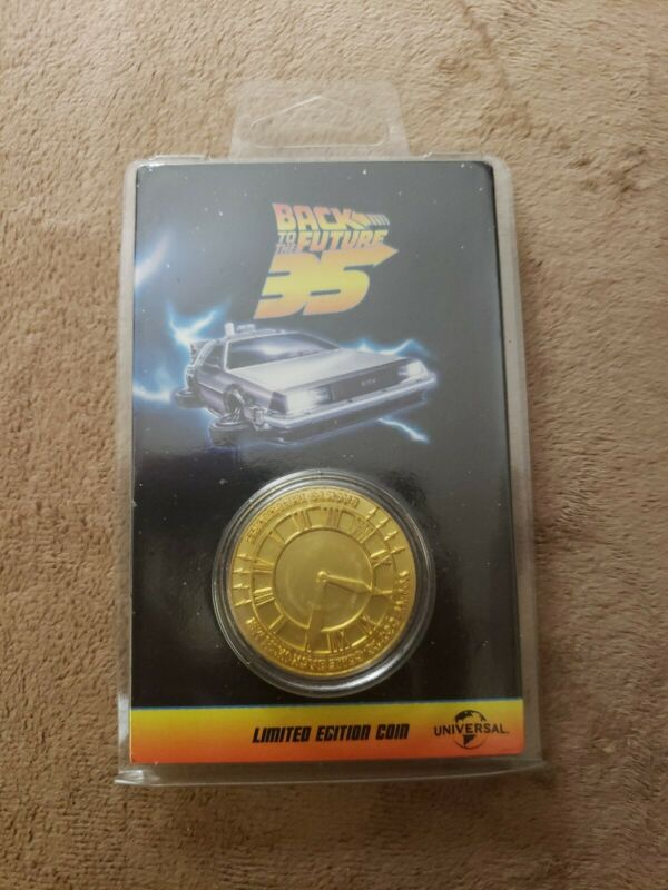Back To The Future 35th Anniversary Limited Edition Coin
