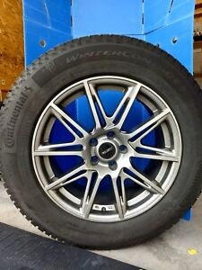 Winter tires with OEM Alloy rims - 235-65-18