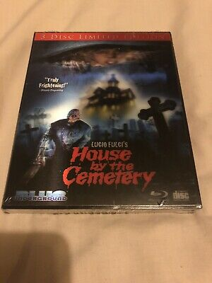 BLUE UNDERGROUND LUCIO FULCI HOUSE BY THE CEMETERY BLU-RAY LIMITED EDITION w/CD