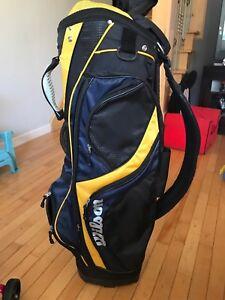 """Golf clubs bag (sac de golf) 'WILSON"""""""