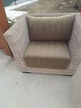 Outdoor wicker armchairs Coorparoo Brisbane South East Preview