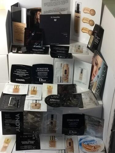 Luxus Make Up Proben 10 Stück Überraschung Chanel, Dior, Lancome, YSL.......