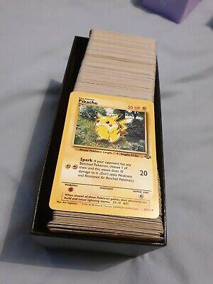 Pokemon Cards x50 WOTC Base Jungle Fossil Team Rocket Bundle Job Lot