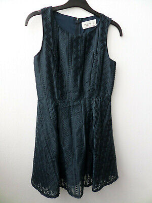 Abercrombie Kids Dark Navy Party Dress Age 11/12 Abercrombie & Fitch