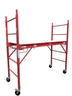 Safety Scaffolding Ladder - 450KG - Red or Blue