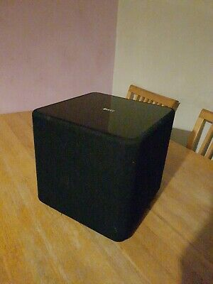 KEF Kube-1 Active Subwoofer in Black Never Really Used