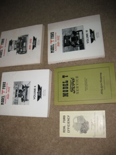antique car model T ford books book 1976 signed