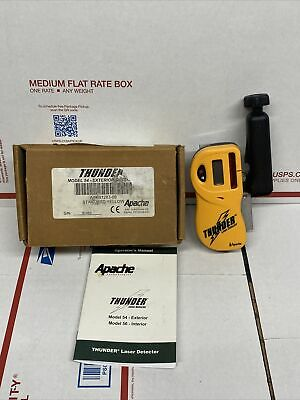 Laser Dectector Pls -5x 54 Apache Thunder Precision Laser W52 Rod