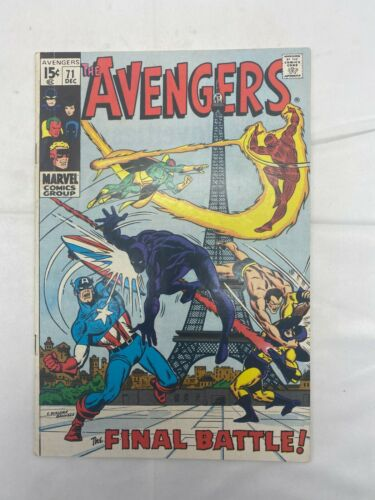 Silver Age Avengers #71 First appearance of The Invaders