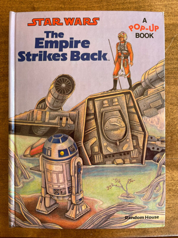 Vintage 1980 The Empire Strikes Back Pop Up Book Star Wars Near Mint!
