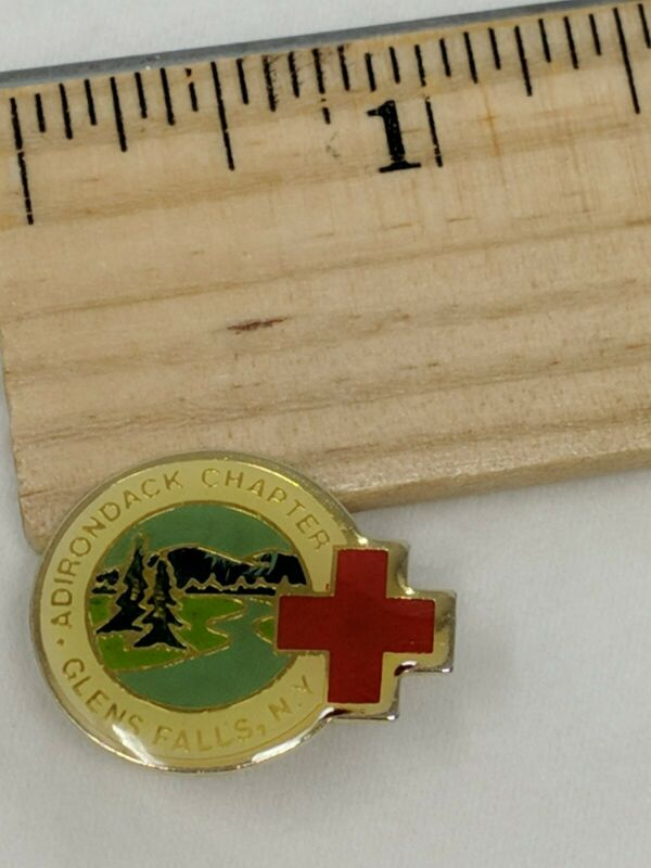 American Red Cross ARC Pin ADIRONDACK CHAPTER GLEN FALLS NY
