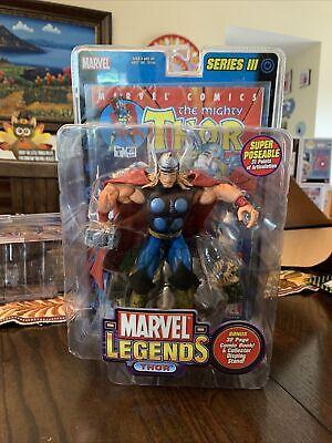Marvel Legends Series 3 Thor Toy Biz 2002