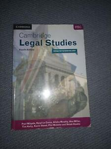 Year 12 HSC legal textbook Castle Hill The Hills District Preview