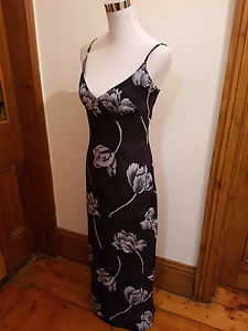 Fitted long floral spaghetti strap dress West Hindmarsh Charles Sturt Area Preview