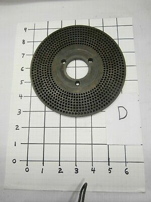 Index Plate For Dividing Head 73 77 79 83 89 91 97 With 1-12 Center Hole