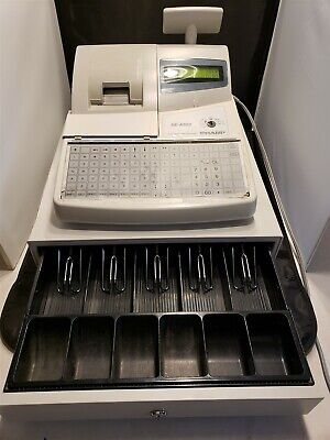 Sharp Xe-a302 Cash Register - Works Great - No Keys - Includes Manual