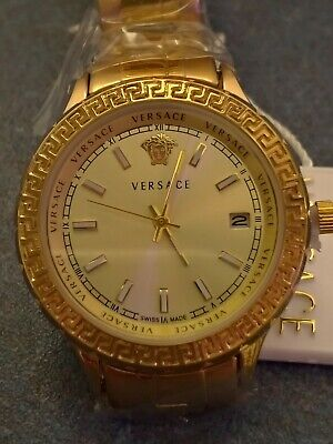 Versace 0865L Women's Watch,Gold, 38mm