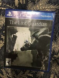 The Last Guardian PS4 never used
